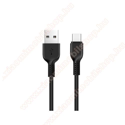 Xiaomi Black Shark 3 ProHOCO X13 adatátviteli kábel / USB töltő - USB 3.1 Type C, 1m, 2A - FEKETE - GYÁRI