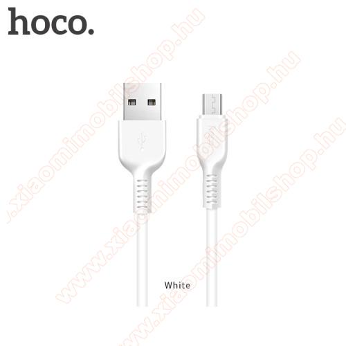 Xiaomi Redmi Y1 LiteHOCO X20 2A adatátvitel adatkábel / USB töltő - USB / microUSB, 1m - FEHÉR