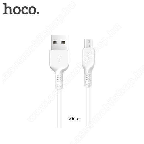 ASUS PadFone XHOCO X20 2A adatátvitel adatkábel / USB töltő - USB / microUSB, 1m - FEHÉR