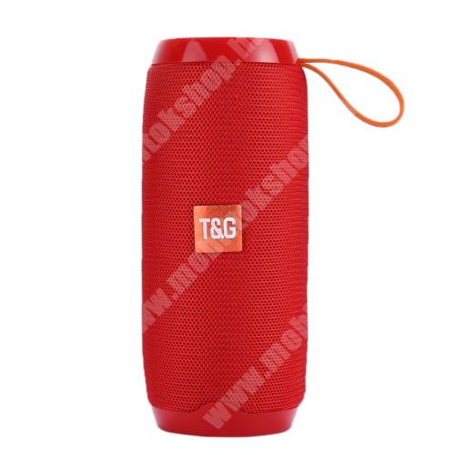 PRESTIGIO MultiPhone 5300 Duo Hordozható Bluetooth hangszóró - Bluetooth V4.2, beépített mikrofon, 3,5mm AUX, USB port, TF kártyafoglalat, beépített 1200mAh akkumulátor - PIROS