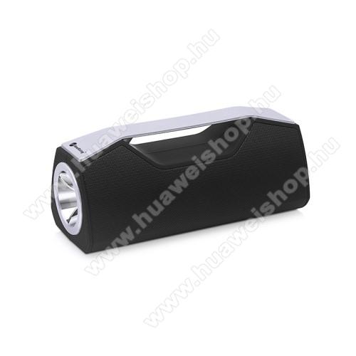 HUAWEI Honor Pad 2 8.0Hordozható Bluetooth hangszóró, elem lámpa - Bluetooth V5.0, beépített mikrofon, 3,5mm AUX, USB port, FM rádió, TF kártyafoglalat, beépített 1200mAh akkumulátor - FEKETE