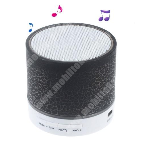 NOKIA 2600 Hordozható bluetooth hangszóró - FEKETE - v2.1, microSD foglalat, mikrofon, kihangosító funkció, 3,5 jack aljzat