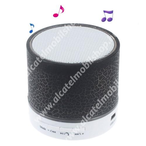 Alcatel OT-810D Hordozható bluetooth hangszóró - FEKETE - v2.1, microSD foglalat, mikrofon, kihangosító funkció, 3,5 jack aljzat