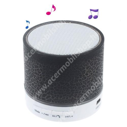 ACER Liquid Z3 Hordozható bluetooth hangszóró - FEKETE - v2.1, microSD foglalat, mikrofon, kihangosító funkció, 3,5 jack aljzat