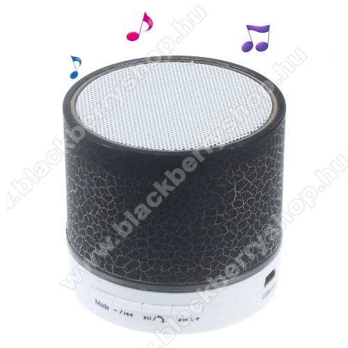 BLACKBERRY 8820Hordozható bluetooth hangszóró - FEKETE - v2.1, microSD foglalat, mikrofon, kihangosító funkció, 3,5 jack aljzat