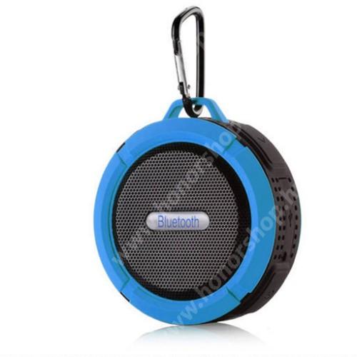 HUAWEI Honor 9 Hordozható bluetooth hangszóró - KÉK - v3.0+EDR, microSD foglalat, mikrofon, kihangosító funkció, IP65 Víz-és porálló