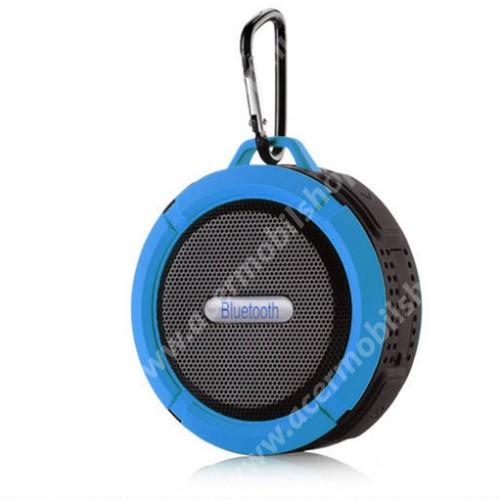ACER Liquid Z3 Hordozható bluetooth hangszóró - KÉK - v3.0+EDR, microSD foglalat, mikrofon, kihangosító funkció, IP65 Víz-és porálló