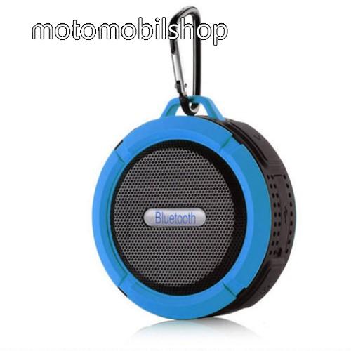 MOTOROLA Fire (XT311) Hordozható bluetooth hangszóró - KÉK - v3.0+EDR, microSD foglalat, mikrofon, kihangosító funkció, IP65 Víz-és porálló