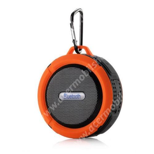 ACER Liquid Z3 Hordozható bluetooth hangszóró - NARANCS - v3.0+EDR, microSD foglalat, mikrofon, kihangosító funkció, IP65 Víz-és porálló