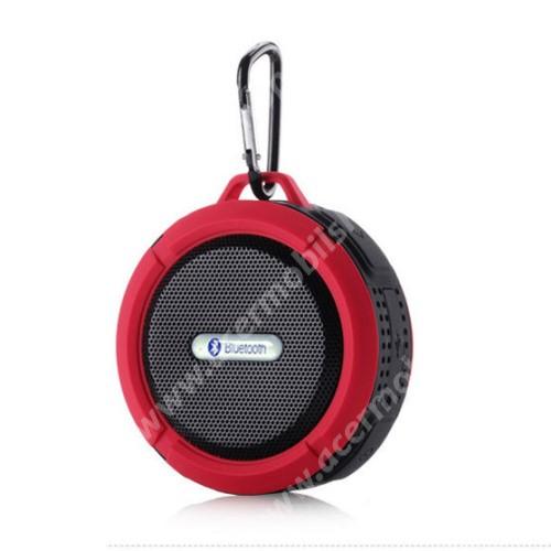 ACER Iconia Tab A200 Hordozható bluetooth hangszóró - PIROS - v3.0+EDR, microSD foglalat, mikrofon, kihangosító funkció, IP65 Víz-és porálló