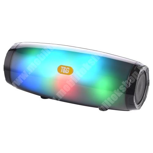 LG G4c (H525N) Hordozható Bluetooth hangszóró - V5.0, beépített mikrofon, FM rádió, 3,5mm AUX, USB port, TF kártyafoglalat, LED fény, beépített 1200mAh akkumulátor, 21,5 x 8,6 x 8,78 mm - FEKETE
