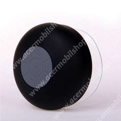 ACER Iconia Tab A200 Hordozható bluetooth mini hangszóró - FEKETE - v.3.0 +EDR, IPX4 vízállósági szabvány, tapadókorongos