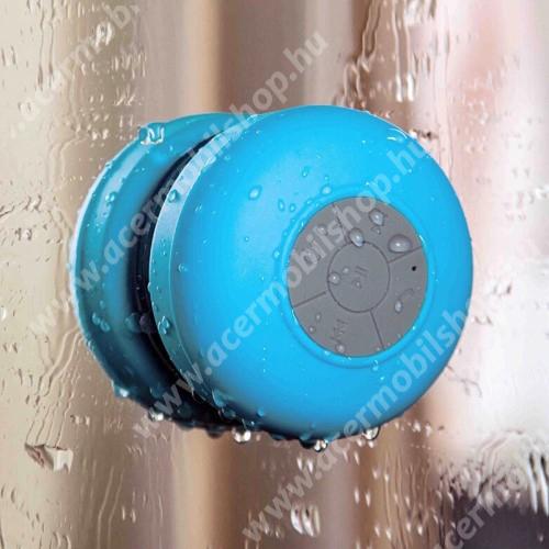 ACER Iconia Tab A200 Hordozható bluetooth mini hangszóró - VILÁGOSKÉK - v.3.0 +EDR, IPX4 vízállósági szabvány, tapadókorongos