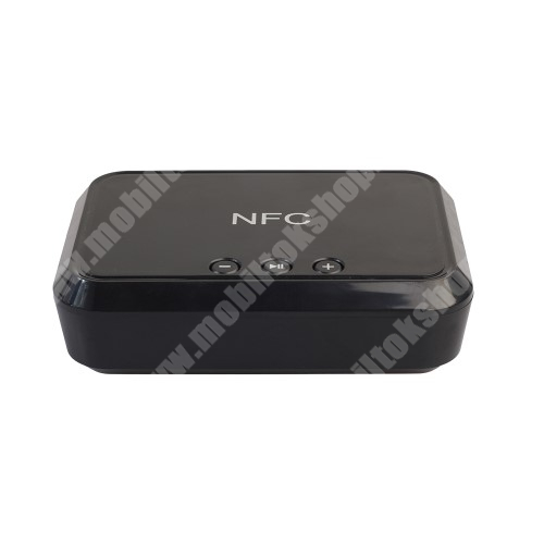 HomTom HT7 Hordozható bluetooth zene vevőegység - v4.1, NFC, USB töltőporttal - FEKETE