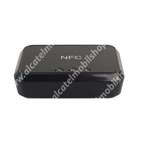 Alcatel OT-810D Hordozható bluetooth zene vevőegység - v4.1, NFC, USB töltőporttal - FEKETE
