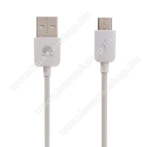 HUAWEI MediaPad T2 7.0 ProHUAWEI 1A adatátvitel adatkábel / USB töltő - USB / microUSB, 1m - FEHÉR - GYÁRI