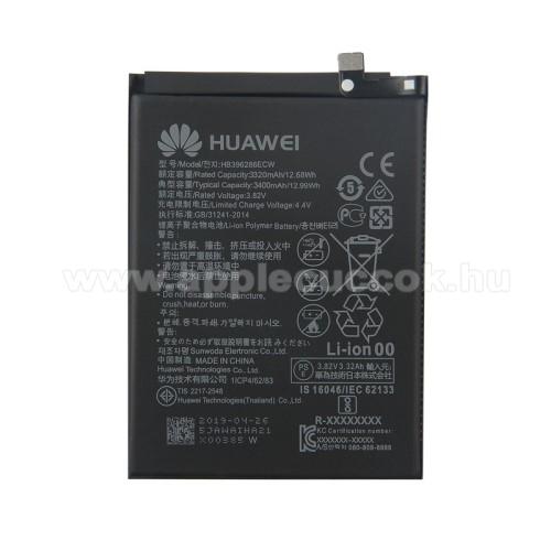 HUAWEI akku 3320mAh mAh LI-Polymer (belső akku, beépítése szakértelmet igényel) - HB396286ECW - HUAWEI P Smart (2019) / HUAWEI Honor 10 Lite - GYÁRI