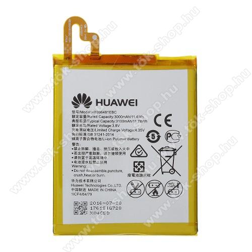 HUAWEI akkumulátor - 3100mAh, 3.8V - HB396481EBC - HUAWEI G8 / D199 Maimang 4 - GYÁRI