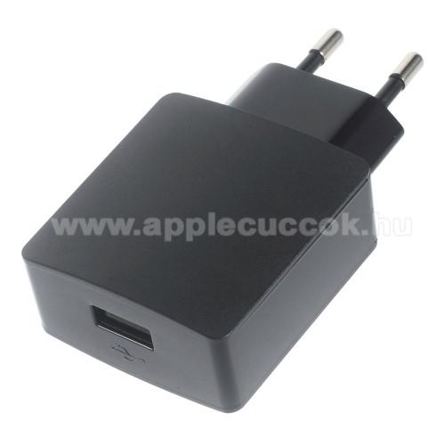 HUAWEI h�l�zati t�lt? - 5V/2A, USB aljzattal - HW-050200E3W - FEKETE - GY�RI