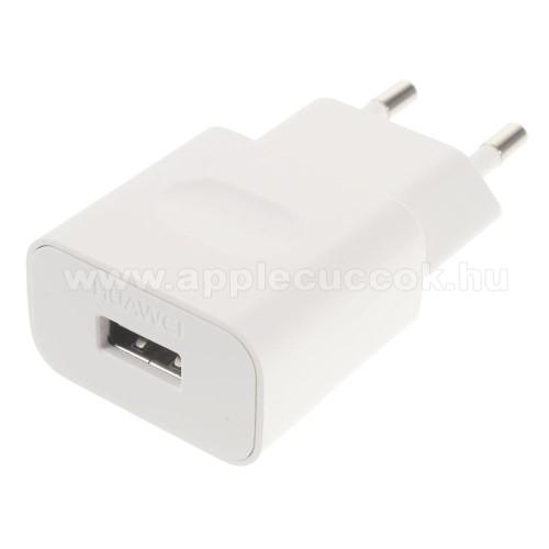 HUAWEI h�l�zati t�lt? USB aljzattal - FEH�R - 5V/1A, HW-050100E01 - GY�RI