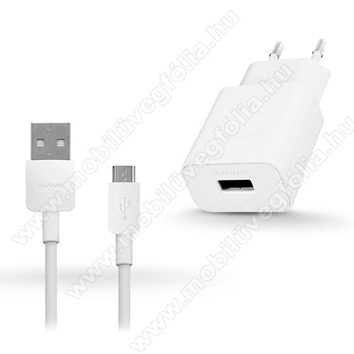 DJI Mavic MiniHUAWEI hálózati töltő - 5V/2A, USB aljzat, 1m-es microUSB 2.0 adatátviteli / töltő kábellel - FEHÉR - HW-050200E02 + PY0857 microUSB kábel - GYÁRI - Csomagolás nélküli