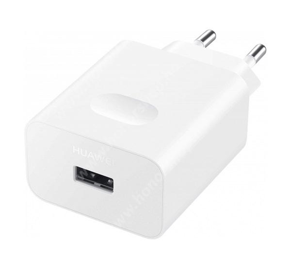 HUAWEI Honor 8A (2020) HUAWEI hálózati töltő - USB aljzattal, 10V / 4000mA, 40W, gyorstöltés támogatás - FEHÉR - CP84 / HW-100400E - GYÁRI - Csomagolás nélküli