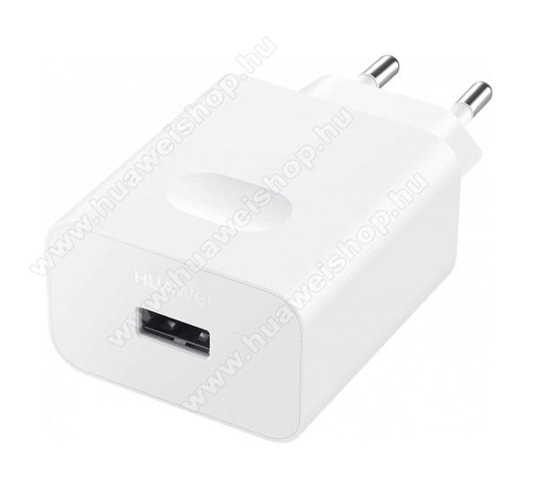 HUAWEI hálózati töltő - USB aljzattal, 10V / 4000mA, 40W, gyorstöltés támogatás - FEHÉR - CP84 / HW-100400E - GYÁRI - Csomagolás nélküli