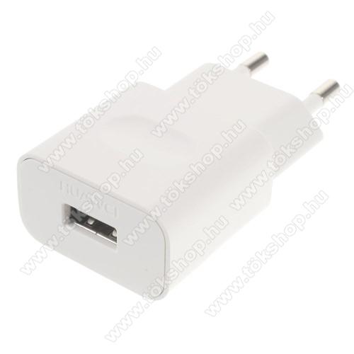 Xiaomi Poco M3 Pro 5GHUAWEI hálózati töltő USB aljzattal - FEHÉR - 5V/1A, HW-050100E01 - GYÁRI