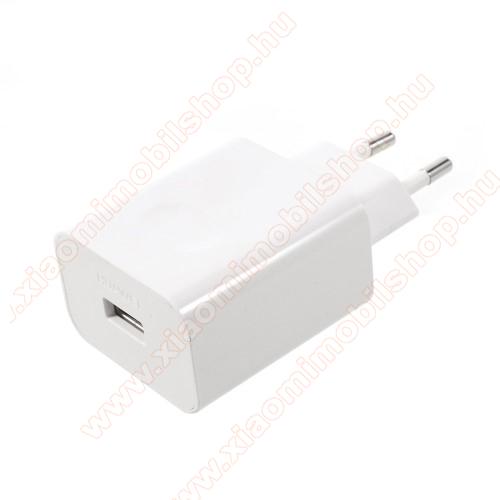 Xiaomi Redmi Y1HUAWEI hálózati töltő USB aljzattal - SuperCharge gyorstöltés támogatás - 5V / 2A, 4.5V / 5A, 5V / 4.5A - FEHÉR - HW-050450E00 - GYÁRI