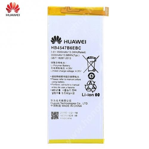 HUAWEI Honor 6 Plus HUAWEI Honor 6 Plus akkumulátor - 3600mAh Li-Polymer - HB4547B6EBC - GYÁRI