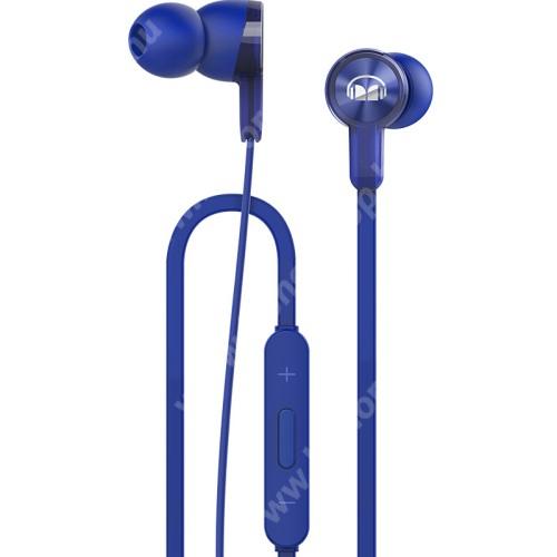 HUAWEI Honor 4XHUAWEI Honor AM15 sztereo headset - KÉK - 3,5mm jack, mikrofon, felvevő és hangerő szabályzó gombok - GYÁRI