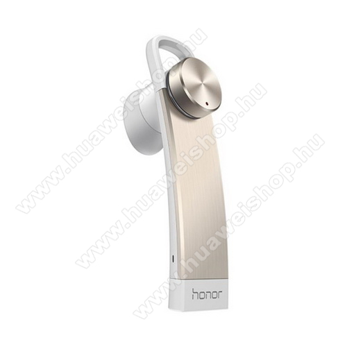 HUAWEI Honor Whistle AM07 BLUETOOTH HEADSET / JAMES BOND -  V4.1 A2DP 1.2/AVRCP 1.0/HFP1.6/HSP1.2 - ARANY - GYÁRI