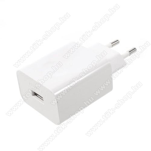 SAMSUNG Galaxy Tab Active Pro (Wi-Fi) (SM-T545)HUAWEI SuperCharge hálózati töltő USB aljzattal - 5V / 2A, 4.5V / 5A, 5V / 4.5A - FEHÉR - HW-050450E00 - GYÁRI