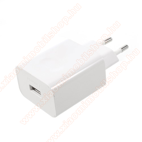 Xiaomi Mi A1HUAWEI SuperCharge hálózati töltő USB aljzattal - 5V / 2A, 4.5V / 5A, 5V / 4.5A - FEHÉR - HW-050450E00 - GYÁRI