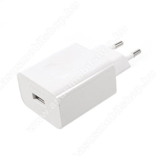 ASUS Zenfone 3 Deluxe (ZS570KL)HUAWEI SuperCharge hálózati töltő USB aljzattal - 5V / 2A, 4.5V / 5A, 5V / 4.5A - FEHÉR - HW-050450E00 - GYÁRI
