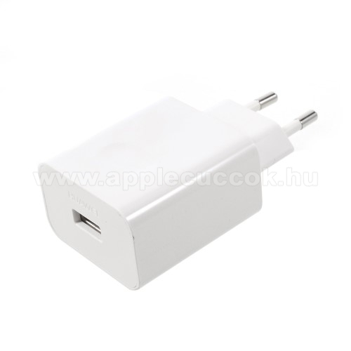 APPLE iPad Pro 12.9 (2020)HUAWEI SuperCharge hálózati töltő USB aljzattal - 5V / 2A, 4.5V / 5A, 5V / 4.5A - FEHÉR - HW-050450E00 - GYÁRI