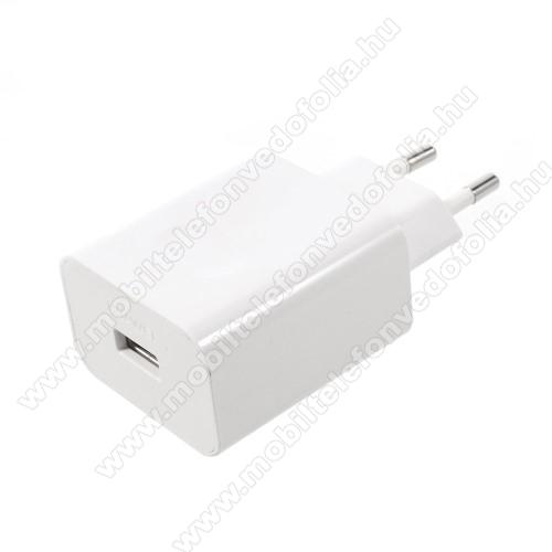 NOKIA 7.1HUAWEI SuperCharge hálózati töltő USB aljzattal - 5V / 2A, 4.5V / 5A, 5V / 4.5A - FEHÉR - HW-050450E00 - GYÁRI