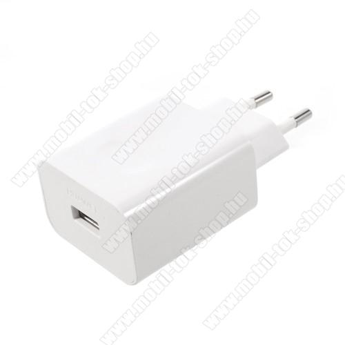 HUAWEI SuperCharge hálózati töltő USB aljzattal - 5V / 2A, 4.5V / 5A, 5V / 4.5A - FEHÉR - HW-050450E00 - GYÁRI