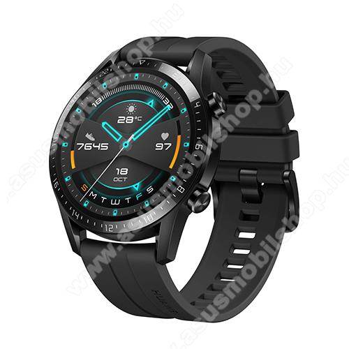 ASUS Zenfone Max Plus (M2) (ZB634KL)HUAWEI Watch GT 2 okosóra - 46mm, beépített GPS, 3D edzett üveg, aktívitás figyelő, szilikon szíjjal - FEKETE - 55024474 - GYÁRI