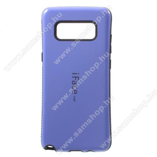 iFace műanyag védő tok / hátlap - LILA - szilikon betétes, ERŐS VÉDELEM! - SAMSUNG SM-N950F Galaxy Note8