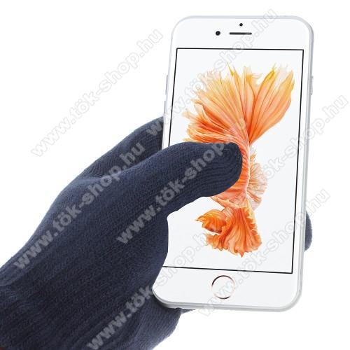 SAMSUNG Galaxy Tab Active Pro (Wi-Fi) (SM-T545)iGlove érintő kesztyű - kapacitív kijelzőhöz - SÖTÉTKÉK