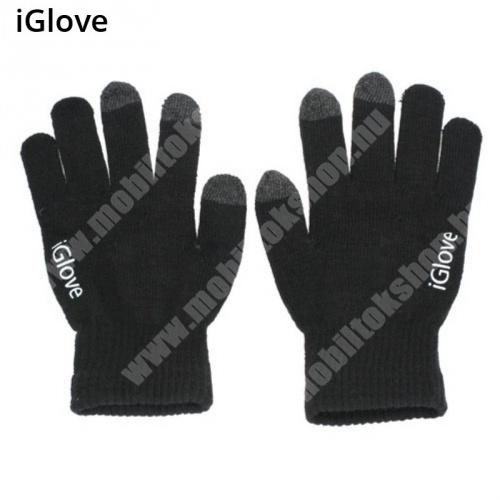 Allview P5 Life iGlove érintő kesztyű - kapacitív kijelzőhöz - FEKETE
