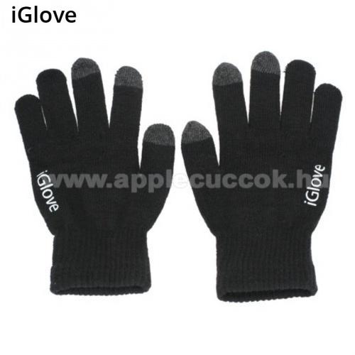 Apple iPad mini (2019)iGlove érintő kesztyű - kapacitív kijelzőhöz - FEKETE