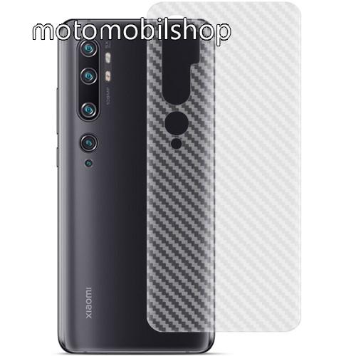 IMAK Carbon hátlapvédő fólia - KARBON MINTÁS - 1db, A TELJES HÁTLAPOT VÉDI! - Xiaomi Mi Note 10 / Xiaomi Mi Note 10 Pro / Xiaomi Mi CC9 Pro - GYÁRI
