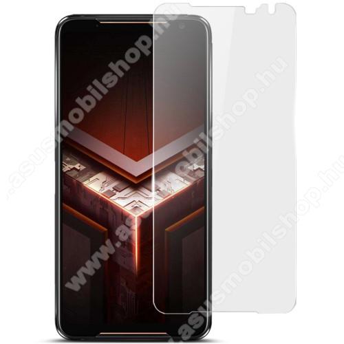 IMAK Clear Soft képernyővédő fólia - TPU, Explosion-proof, A képernyő sík részét védi - ASUS ROG Phone II (ZS660KL) - GYÁRI