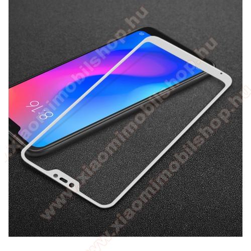 Xiaomi Mi A2 LiteIMAK előlap védő karcálló edzett üveg - FEHÉR - 9H - Xiaomi Redmi 6 Pro / Xiaomi Mi A2 Lite - A TELJES KIJELZŐT VÉDI! - GYÁRI