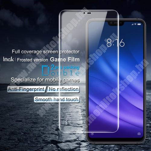 IMAK Frosted Hydrogel Protector képernyővédő fólia - MATT - 2db, 0,15 mm, A TELJES KIJELZŐT VÉDI! - Xiaomi Mi 8 Lite / Xiaomi Mi 8 Youth (Mi 8X) - GYÁRI