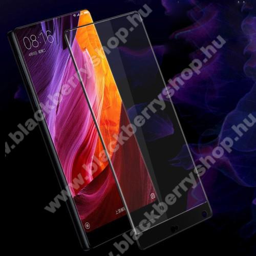 IMAK Full Cover előlap védő karcálló edzett üveg - 2.5D, arc edge - FEKETE - Xiaomi Mi Mix - GYÁRI