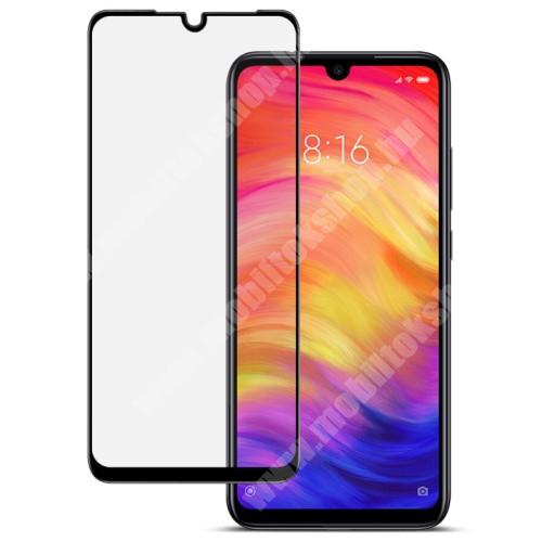 Xiaomi Redmi Note 7 Pro IMAK Glass Pro előlap védő karcálló edzett üveg - FEKETE - 9H - A TELJES KIJELZŐT VÉDI! - Xiaomi Redmi Note 7 / Xiaomi Redmi Note 7 Pro / Xiaomi Redmi Note 7S - GYÁRI