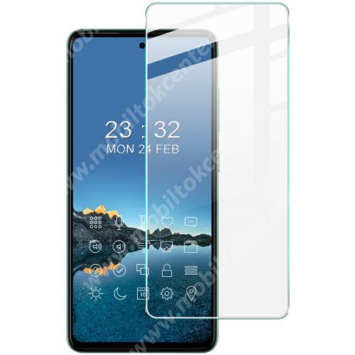 IMAK H előlap védő karcálló edzett üveg - 9H, A képernyő sík részét védi - SAMSUNG Galaxy A52 5G (SM-A526F) / Galaxy A52 4G (SM-A525F) - GYÁRI